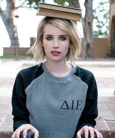 emma roberts cool balanced student <3