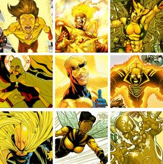 DC Heroes Yellow