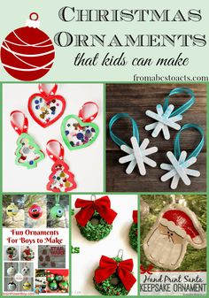 From toddlers to teenagers, we've got plenty of DIY Christmas ornament ideas to keep you and your kids crafting all season long!