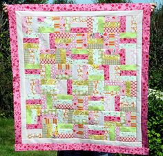 Pink and Green Fence Rail #Quilt http://media-cache8.pinterest.com/upload/40673202854217303_NYBEKQeO_f.jpg hfe777 my next hobby