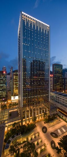 China Resources Building by Ronald Lu & Partners in Wan Chai, Hong Kong