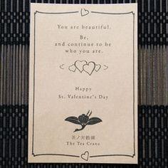 The Tea Crane Valentine Campaign - The Tea Crane Live Update
