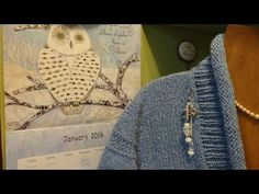 FLOWERS BLING.  J's Quick and Easy Accents Tutorial. EP. #19. - YouTube - J's Knit and Purl Jam