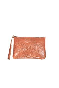 #20 Medium Pouch / High Shine Acorn #leather