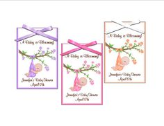Seed packet favor  Baby is blooming theme baby shower favor