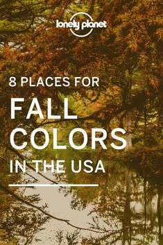 The best Places To See Vibrant Fall Foliage In The USA  because fall in the USA means stunning visuals.  | fall travel destinations usa | fall travel usa | fall usa | fall in usa | fall trips usa | usa fall destinations Family Adventure, Adventure Travel, Multnomah Falls, Usa Usa, Smoky Mountain National Park, Usa Travel, Lonely Planet, Where To Go, Road Trips
