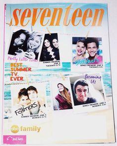 SEVENTEEN MAGAZINE  June/July 2015