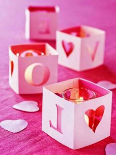 20 Candles Centerpieces, Romantic Table Decorating Ideas for Valentines Day Valentines Day Weddings, Valentine Day Crafts, Be My Valentine, Home Wedding Decorations, Valentine Decorations, Wedding Ideas, Diy Wedding, Wedding Colors, Wedding House