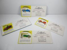 1953 AUTOMEMORIES Comm Bldg Maint Bay Area Advertising Ink Blotter Calendar NOS #ShawBarton