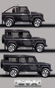 #LandRover Defender #SVX 65th birthday