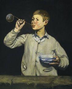 Édouard Manet | Boy Blowing Bubbles, 1869 | oil on canvas 100.5 x 81.4 cm Museu Calouste Gulbenkian, Lisbon, Portugal