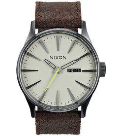 'Nixon The Sentry Watch' #buckle #fashion www.buckle.com