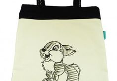 Torba Klasyczny Szkic- Baby Bunny. Tote bag with hand-painted Baby Bunny.