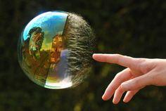 Burbuja efímera