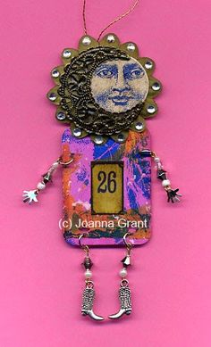 Joanna Grant Mixed Media Art: gelli plate