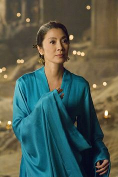 Michelle Yeoh is a Deep Autumn   Still of Michelle Yeoh in The Mummy: Tomb of the Dragon Emperor
