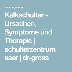 Kalkschulter - Ursachen, Symptome und Therapie   schulterzentrum saar   dr-gross