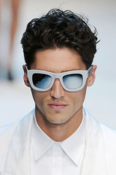 Men's hairstyles 2012.  Short curls.