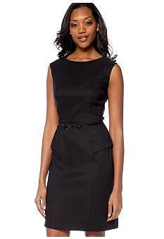 AGB Peplum Sheath Dress