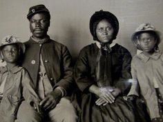 """1865 marked the end of one war and the beginning of another.  Slavery was eliminated, but the memories of parents and older children remained.  Many grandparents in these families had already passed, due to a hard life.  This is also when KKK began its major growth spurt, """"white supremacy"""" became the primary anti-negro phrase, and """"miscegenation"""" the #1 controversy."""
