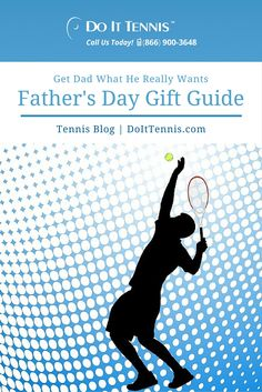 Father's Day Tennis Gift Guide--If the father, grandfather or favorite uncle in your life spends their happiest hours on the tennis court, choose gifts for tennis players that will be used all year-nobody needs any more goofy ties or bar glasses.