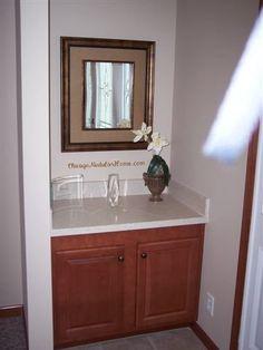 prefab log homes il Prefab Log Homes, Modular Homes, Home Photo, Bathrooms, Mirror, Furniture, Home Decor, Decoration Home, Bathroom