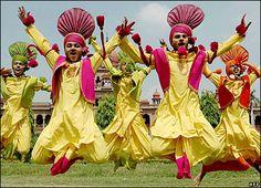 Bhangra Dance, Punjab, India