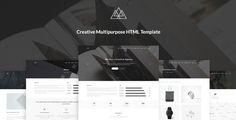Atlantida - Creative Multipurpose PSD Template by Ellipse_ Atlantida is a minimal, creative Multipurpose PSD Template based on bootstrap 1170px grid which suits any Design Agency, Studio, C