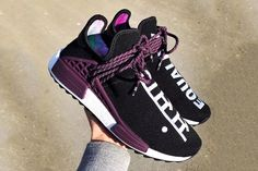 Pharrell Williams adidas Originals Hu NMD Trail Holi Equality Release Date Info Drops March 2 2018 Human Race Shoes, Adidas Human Race, Adidas Shoes Women, Adidas Sneakers, Adidas Nmd Women, Nike Women, Adidas Tubular Nova, Shoe Palace, Hype Shoes