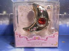 """2. Miniaturely Tablet Ver.3 Bandai """"  Legendary Silver crys """" Sailor Moon 20th"""