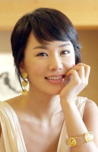 Uhm Jung-hwa and her cute bangs!