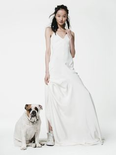 Houghton Bacall Gown #houghton #houghtonnyc #houghtonbride