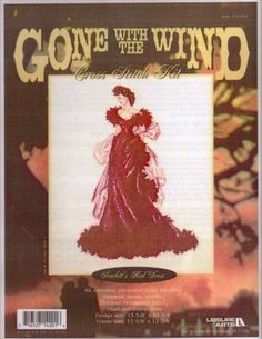 Cross Stitch Patterns : All Gone With the Wind Collectibles-rare retired vintage collectibles-shopping at www.allgwtw.com
