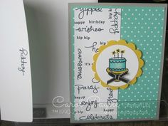 Stampin' Up!, Endless Birthday Wishes, Blendabilities Markers,  www.carolpayne.stampinup.net