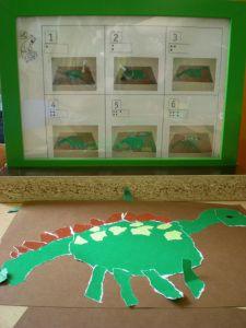Een vorm scheuren met een stappenplan Busy Boxes, The Good Dinosaur, Art School, Diy For Kids, Art Projects, Blog, Drawings, Frame, Party