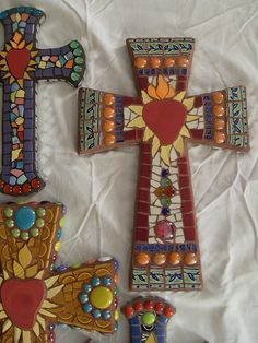 Mosaic Cross Assortment | Fulfilling a request, creating pro… | Flickr