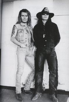 Billy Duffy and Ian Astbury, The Cult