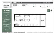 Le plan de l'unité 507B du projet de lofts de style new-yorkais Ogilvy Warehouse. 1428, Avenue Overdale, Montréal, QC H3G 2H1. 2/2