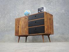 Retro Danish Furniture - Henrik Sideboard Black - Delivery Australia Wide