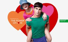 Valentine's Day new wallpapers!  Download them at  benetton.com/gadgets