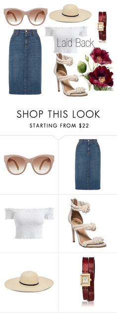 """""""Laid Back Vacay"""" by marie-jane-stupak on Polyvore featuring AlexaChung and Gucci"""