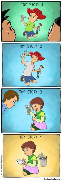 Toy Story 4. This is actually pretty sad.