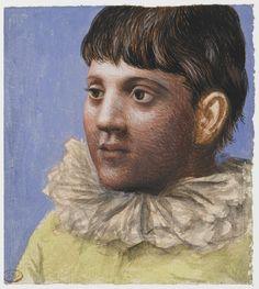 """igormaglica: """" Pablo Picasso Portrait d'adolescent en pierrot, gouache and watercolor on laid paper, x cm """" Pablo Picasso, Picasso Art, Picasso Paintings, Picasso Portraits, Picasso Drawing, Pastel Paintings, Oil Paintings, Henri Rousseau, Henri Matisse"""