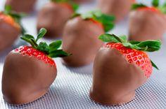 Chocolate coated Strawberries