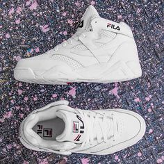 #FILA #FILAUSA #shoes #oldschool #white #sneakers
