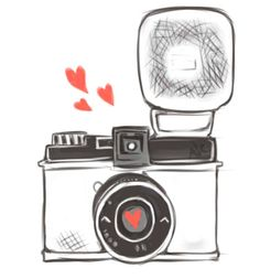 diana f+ camera doodlez by MirukuTea