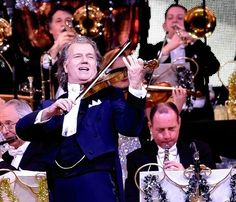 Andre Rieu performs at AECC. Picture by Colin Rennie