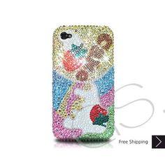 Strawberry Tree Bling Swarovski Crystal iPhone 5 Case