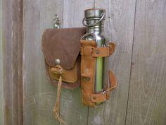 Bottle Holder for Saddleback | Leatherwerk