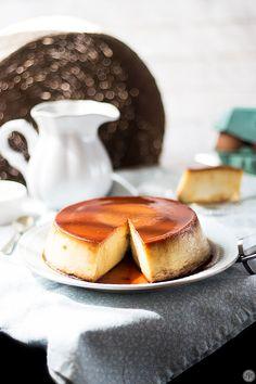 Flan de queso, una receta muy especial | Cocina Creme Brulee, Panna Cotta, Cake Recipes, Sweets, Breakfast, Ethnic Recipes, Desserts, Food, Drink